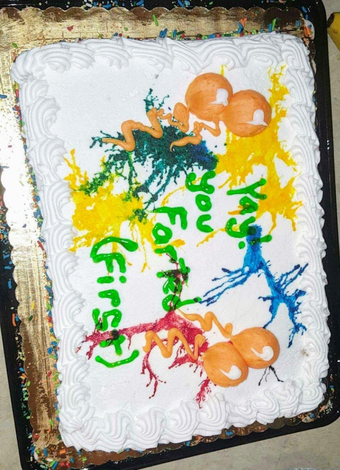Fart cake full